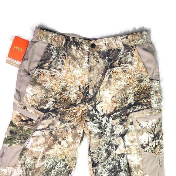 418259f57758a Cabela's Pants   Cabelas Zonz Camo Hunting Size 38 Reg Nwt   Poshmark